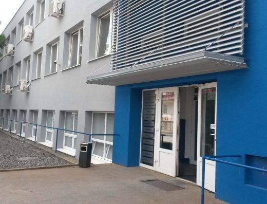 Klimatizované kancelárske priestory v priemyselnej lokalite